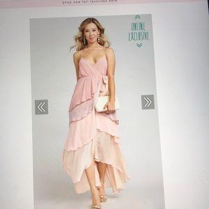 Sz S Oracle Ruffle Maxi Dress-Show Me Your Mumu
